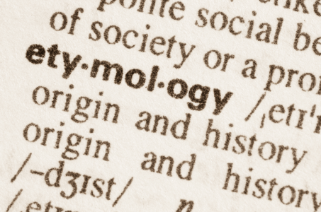 How to find the etymology of a word