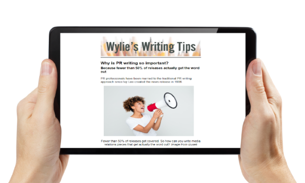 Sign up for Ann's corporate communications writing newsletter